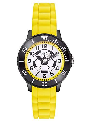 sOliver Jungen-Armbanduhr Analog Quarz Silikon SO-2983-PQ