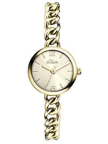 sOliver Damen-Armbanduhr XS Analog Quarz Alloy SO-3002-MQ