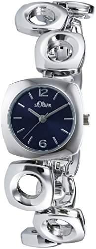 sOliver Damen-Armbanduhr XS Analog Quarz Alloy SO-3006-MQ