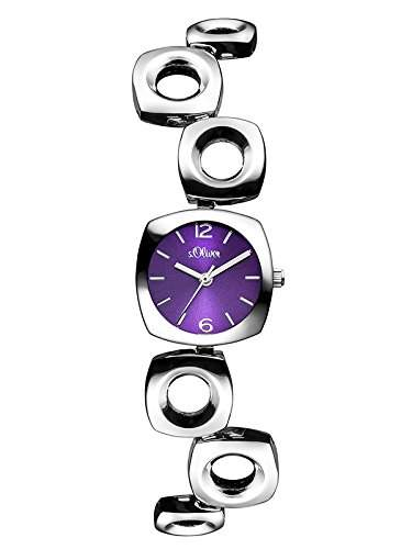sOliver Damen-Armbanduhr XS Analog Quarz Alloy SO-3007-MQ