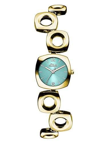 sOliver Damen-Armbanduhr XS Analog Quarz Alloy SO-3009-MQ