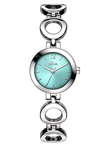 sOliver Damen-Armbanduhr XS Analog Quarz Alloy SO-3016-MQ