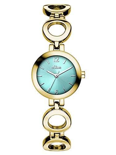 sOliver Damen-Armbanduhr XS Analog Quarz Alloy SO-3018-MQ
