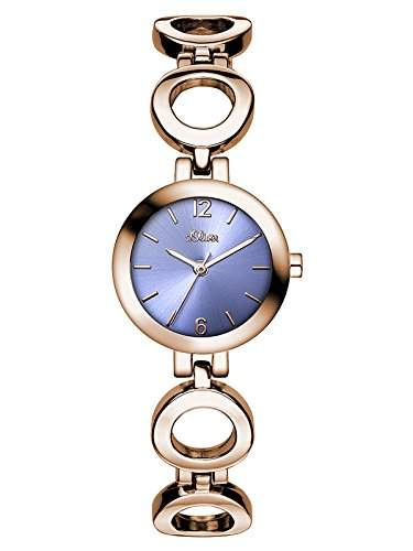 sOliver Damen-Armbanduhr XS Analog Quarz Alloy SO-3022-MQ