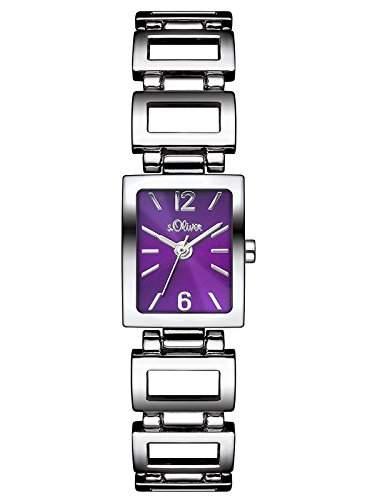 sOliver Damen-Armbanduhr Analog Quarz Alloy SO-3024-MQ