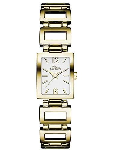 sOliver Damen-Armbanduhr Analog Quarz Alloy SO-3029-MQ