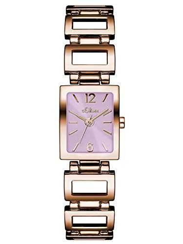 sOliver Damen-Armbanduhr Analog Quarz Alloy SO-3036-MQ