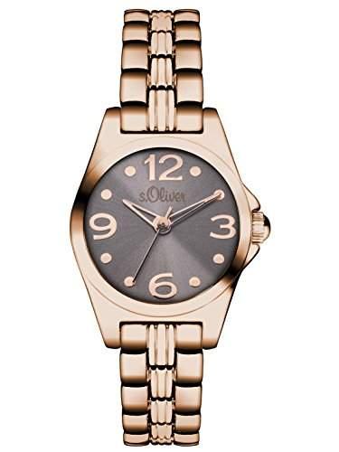 sOliver Damen-Armbanduhr XS Analog Quarz Alloy SO-3045-MQ