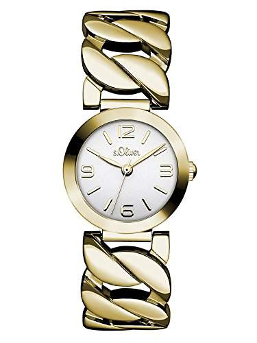sOliver Damen-Armbanduhr Analog Quarz Edelstahl SO-3092-MQ
