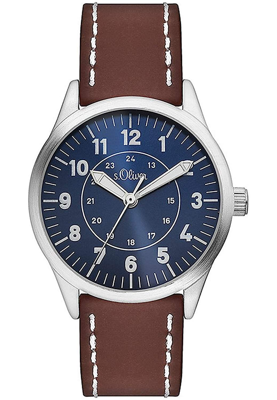 sOliver Jungen-Armbanduhr Analog Quarz Plastik SO-3112-PQ