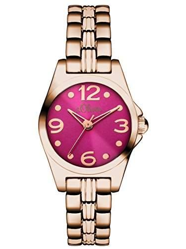 sOliver Damen-Armbanduhr XS Analog Quarz Alloy SO-3046-MQ