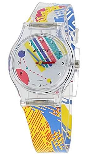 Active Maedchen-Armbanduhr Analog Quarz Plastik ACT-001