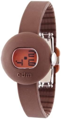 ODM Unisex-Armbanduhr Candy Digital Silikon braun DD122-3