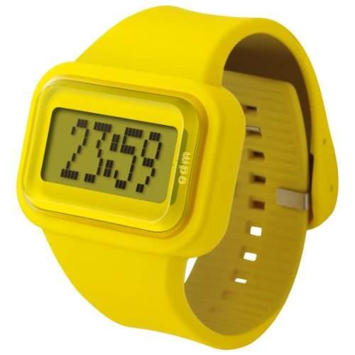 ODM Unisex-Armbanduhr Rainbow box set Digital Silikon gelb DD125-6