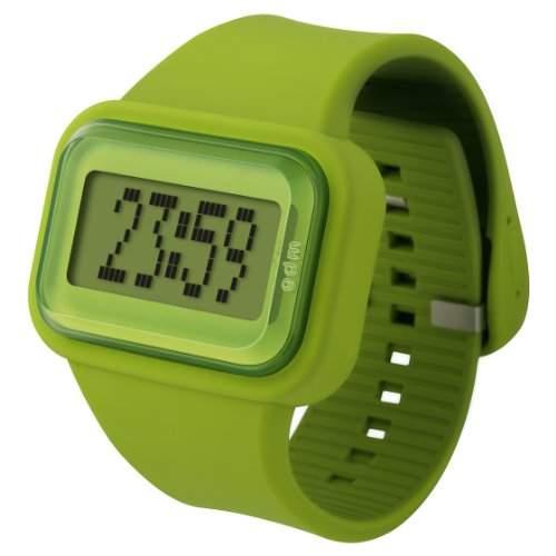 ODM Unisex-Armbanduhr Rainbow box set Digital Silikon gruen DD125-7