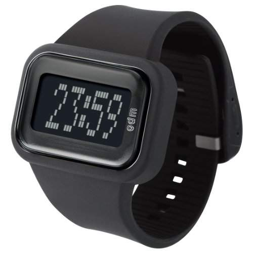 ODM Unisex-Armbanduhr Rainbow box set Digital Silikon schwarz DD125A-1