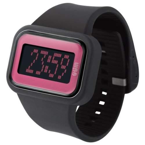 ODM Unisex-Armbanduhr Digital Silikon schwarz DD125A-3