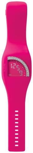 ODM Damen-Armbanduhr Quadtime Princess Digital Silikon DD128C-03