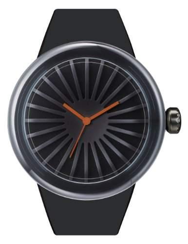 ODM Unisex-Armbanduhr ARCO Analog Silikon DD130-1