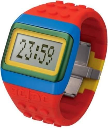 ODM Unisex-Armbanduhr JCDC POP Hours Digital Silikon rot JC01-15