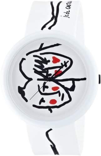 "ODM Unisex-Armbanduhr JCDC Time Gallery ""Chic to Cheek"" Analog Silikon mehrfarbig JC04-02"