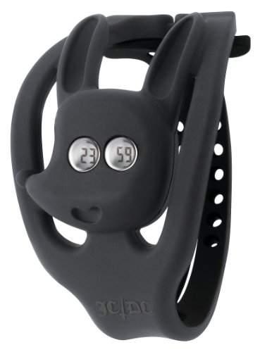 ODM Unisex-Armbanduhr JCDC Gummy Me !!! Digital Plastik Schwarz JC05-1