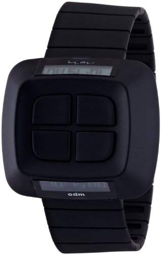 ODM Unisex-Armbanduhr Michael Young Collection Digital Kunststoff schwarz MY02-1