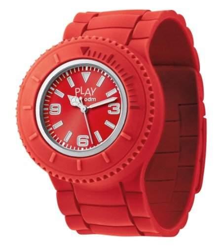 ODM Unisex-Armbanduhr Analog Quarz Rot PP001-07