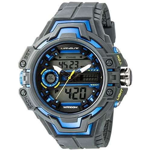 UPhasE Unisex-Armbanduhr Analog-Digital, Quarz Chronograph, UP703-150