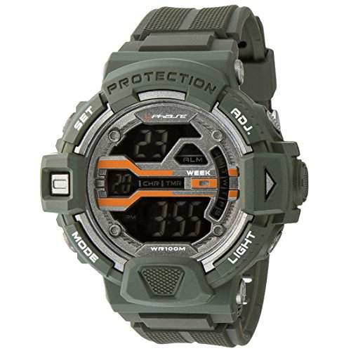 UPhasE Armbanduhr Digital, Quarz Chronograph, UP706-141