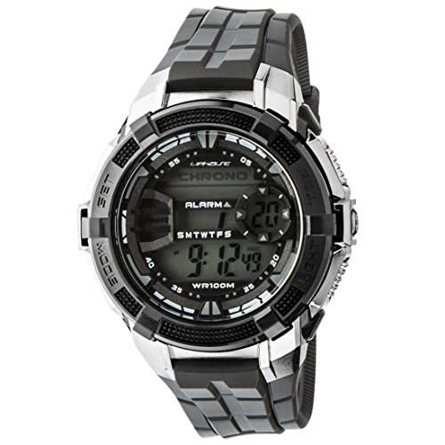 UPhasE Armbanduhr Digital, Quarz Chronograph, UP707-200
