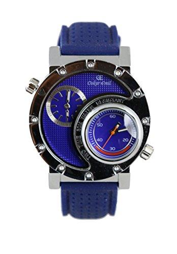 Americana blau Armbanduhr von oskar emil