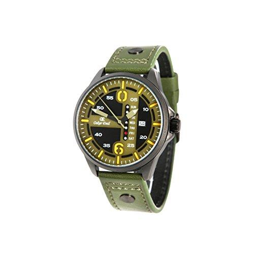 Oskar Emils Yukon Multifunktions Uhr mit Datum und Tagangabe