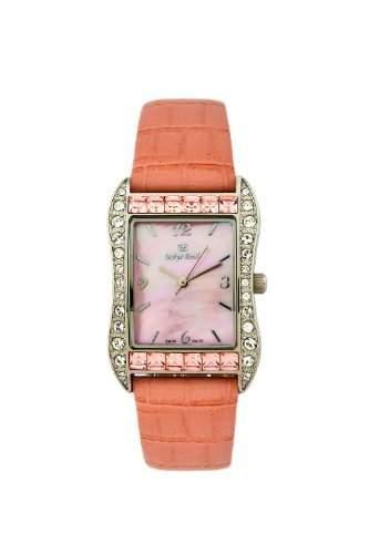 Rochelle pink damen swarovski perlmutter Damen Uhr