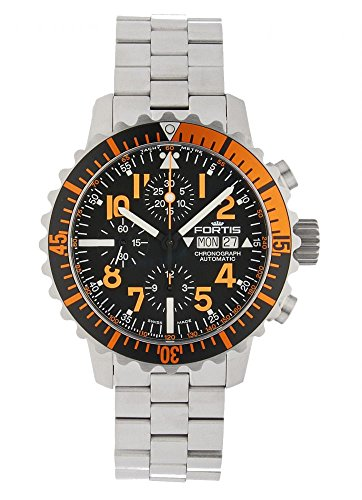 Fortis Aquatis Marinemaster Automatik Chronograph Orange 671 19 49 M