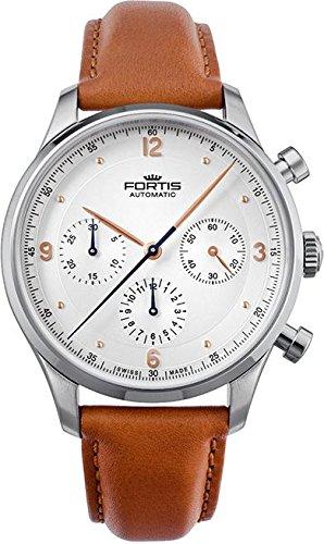 Fortis Tycoon 904 21 12 Herren Automatikchronograph Klassisch schlicht