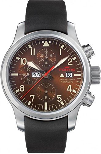 Fortis B 42 Aeromaster Dawn 656 10 18 K Herrenchronograph Sehr gut ablesbar