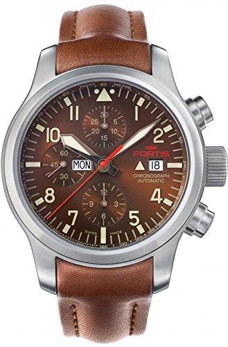 Fortis B 42 Aeromaster Dawn 656 10 18 L08 Herrenchronograph Sehr gut ablesbar