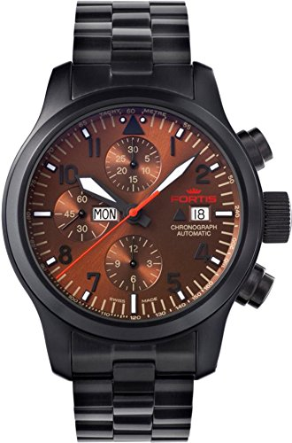 Fortis B 42 Aeromaster Dusk 656 18 98 M Herrenchronograph Sehr gut ablesbar