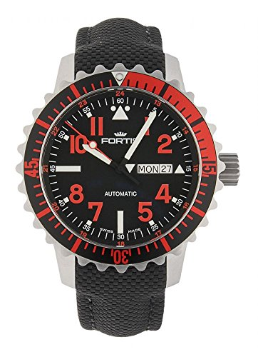 Fortis Aquatis Marinemaster Day Date Automatik Rot 670 23 43 LP