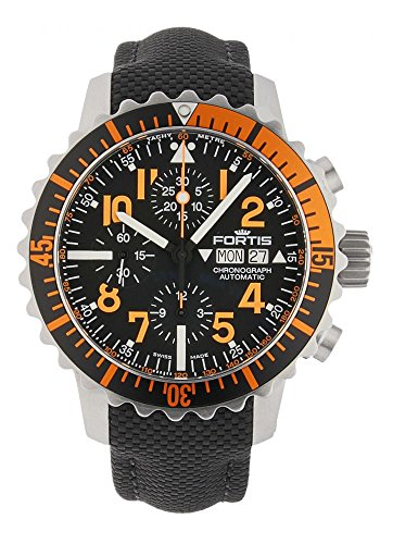 Fortis Aquatis Marinemaster Chronograph Orange 671 19 49 LP