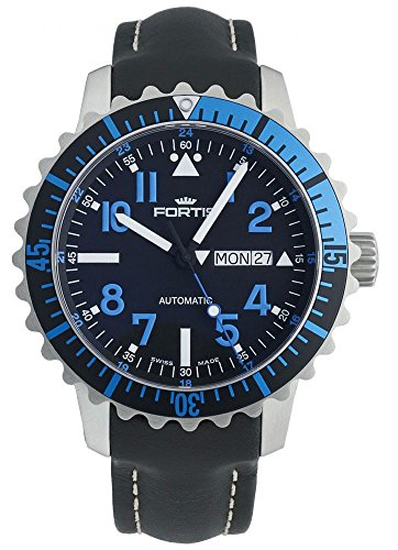 Fortis Aquatis Marinemaster Day Date Blue 670 15 45 L 01