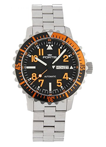 Fortis Aquatis Marinemaster Day Date Orange 670 19 49 M