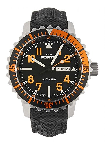 Fortis Aquatis Marinemaster Day Date Orange 670 19 49 LP