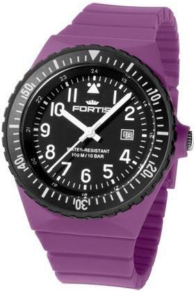 Fortis Colors C14 704 10 185 2 Herrenarmbanduhr Armband auswechselbar