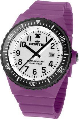 Fortis Colors C14 705 10 185 2 Herrenarmbanduhr Armband auswechselbar