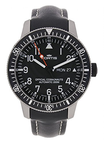 Fortis B 42 Official Cosmonauts Day Date Automatik 647 27 11 L 01