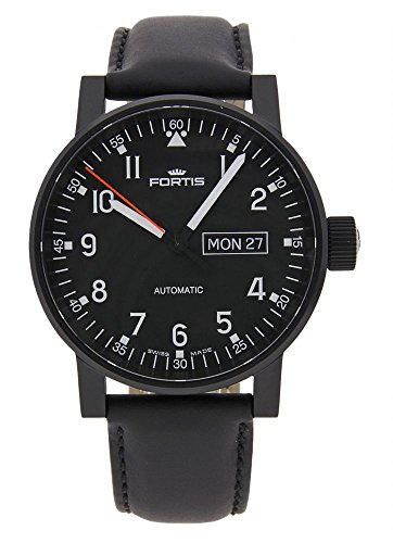 Fortis Spacematic Pilot Professional Day Date Automatik 623 18 71 L 10
