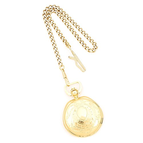 Charles Hubert Gold Finish Messing w Shield Taschenuhr Charles Hubert Gold Finish Brass w Shield Pocket Watch