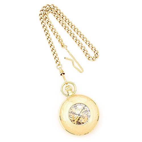 Charles Hubert Gold Finish Taschenuhr Charles Hubert Gold Finish Pocket Watch